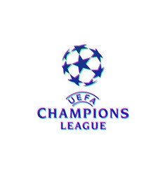 Official logo uefa champions league vector