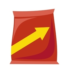 Plastic Bag Snack vector image