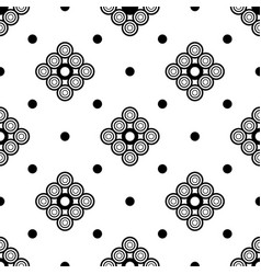 seamless background graphic modern pattern vector image