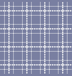 square grid seamless pattern in trendy colors vector image
