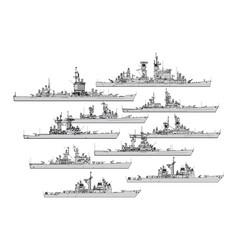 Us cruisers vector