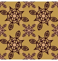 Medieval looking Print for fabric seamless vector image vector image