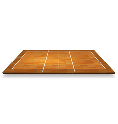 an an aerial view a hardwood vector image