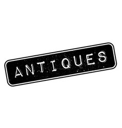 Antiques rubber stamp vector image