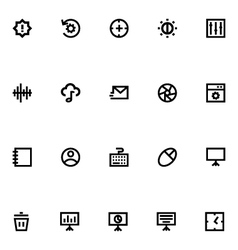 Apple Watch Icons 11 vector