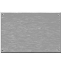 Background texture brushed silver metal vector