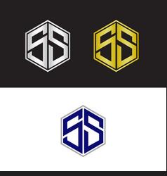 Double s logo vector