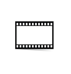 film tape movie vector image