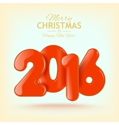 Happy New Year and Merry Christmas Volume vector