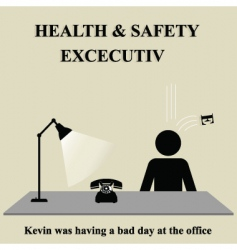 Health safety sign vector
