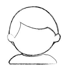 little baby boy character vector image