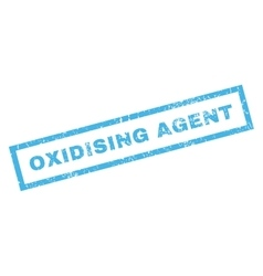 Oxidising Agent Rubber Stamp vector