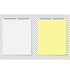 paper leaves yellow and white on isolated vector image