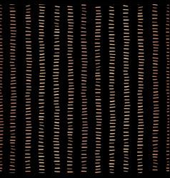 Rose gold foil stripes seamless pattern vector