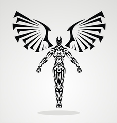 Tribal Angel vector image