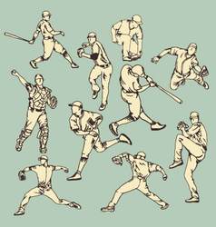 Baseball Sport Action vector image