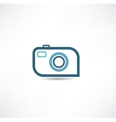 camera icon vector image vector image