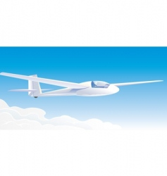 glider vector image vector image