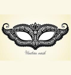 beautiful mask vector image