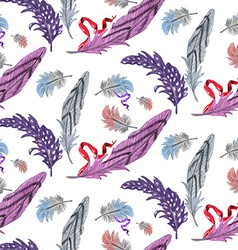 Feather pattern2 vector image