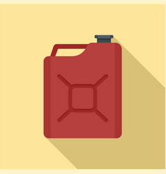 gas canister icon flat style vector image