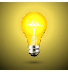 Idea Light Bulb vector