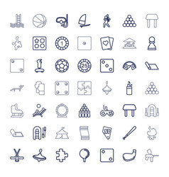 Leisure icons vector