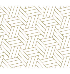 Modern simple geometric seamless pattern vector