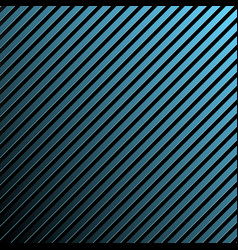 Shiny blue flat metal stripes background vector
