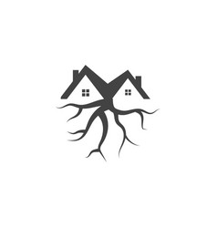Tree house logo icon graphic template vector
