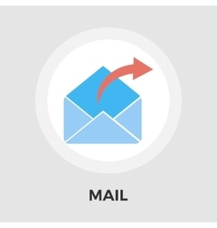 Mailing Line Icon vector image vector image