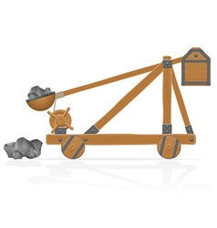 catapult 02 vector image vector image