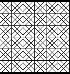 geometric wall decor vector image vector image