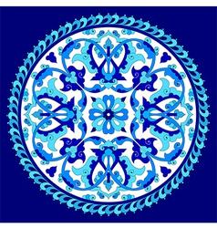Artistic ottoman pattern series seventy eight one vector