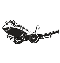 Cartoon Airliner vector image