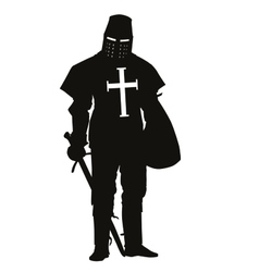 Crusader Warriors Theme vector image