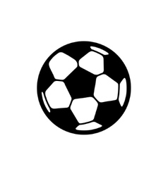 football ball icon vector image