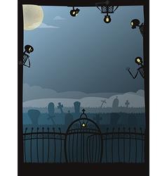 Halloween poster 02 vector image