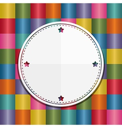 label decoration vector image