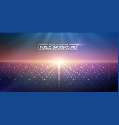 Music abstract background blue eps10 vector