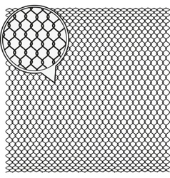 Wire mesh background vector