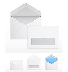 blank envelops vector image
