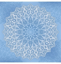 round Ornate Background vector image vector image
