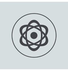 circle icon on gray background Eps 10 vector image