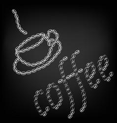 coffee - perfect design element for t-shirt flyer vector image