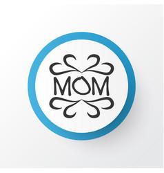 design icon symbol premium quality isolated mam vector image