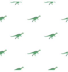 Gallimimus dinosaur pattern seamless vector