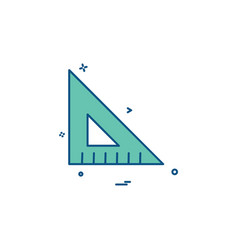 geometry icon design vector image