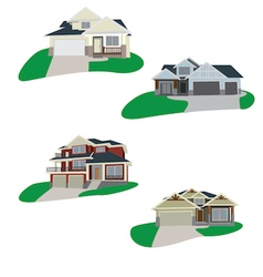 Houses Set 1 vector