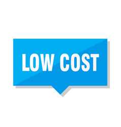 Low cost price tag vector